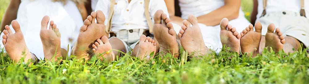 Stick your toes in the grass and love your life!